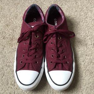 Maroon Converse!